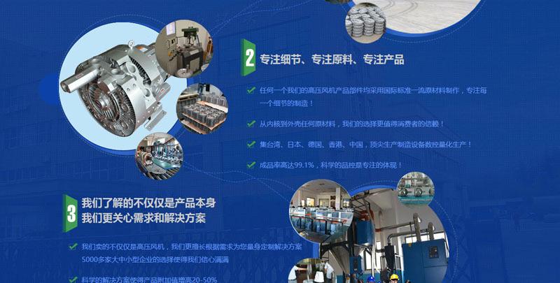 网版印刷机吸附高压风机 , 印刷吸附高压气泵示例图9