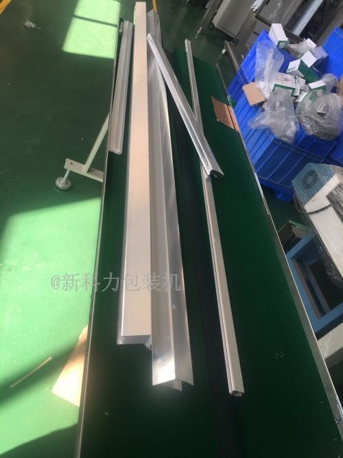 唐氏智能塑料长管包装机 6米塑料管套袋机  3米塑料材包装机 铝材套袋包装机示例图1