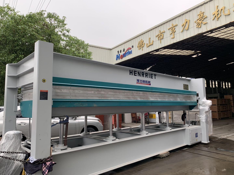 亨力特hlt3248-600t三聚氰氨貼面熱壓機,木工家具貼面熱壓機,生態板貼面熱壓機,尺寸非標可以定制示例圖42