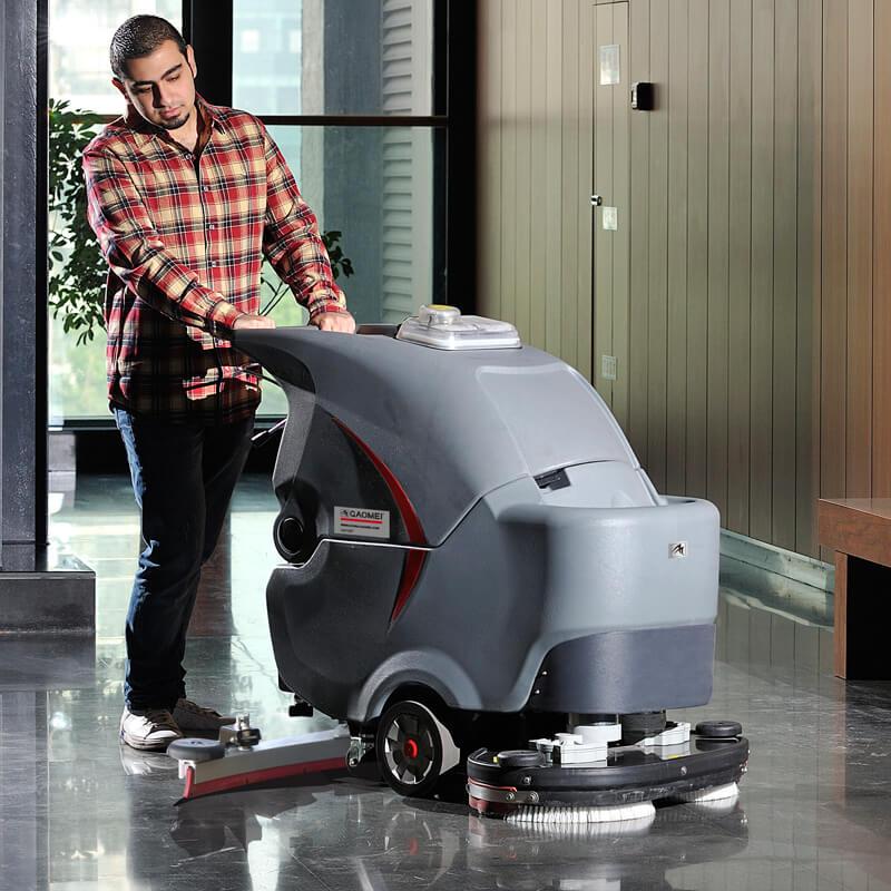 高美GM70BT手推双刷洗地车
