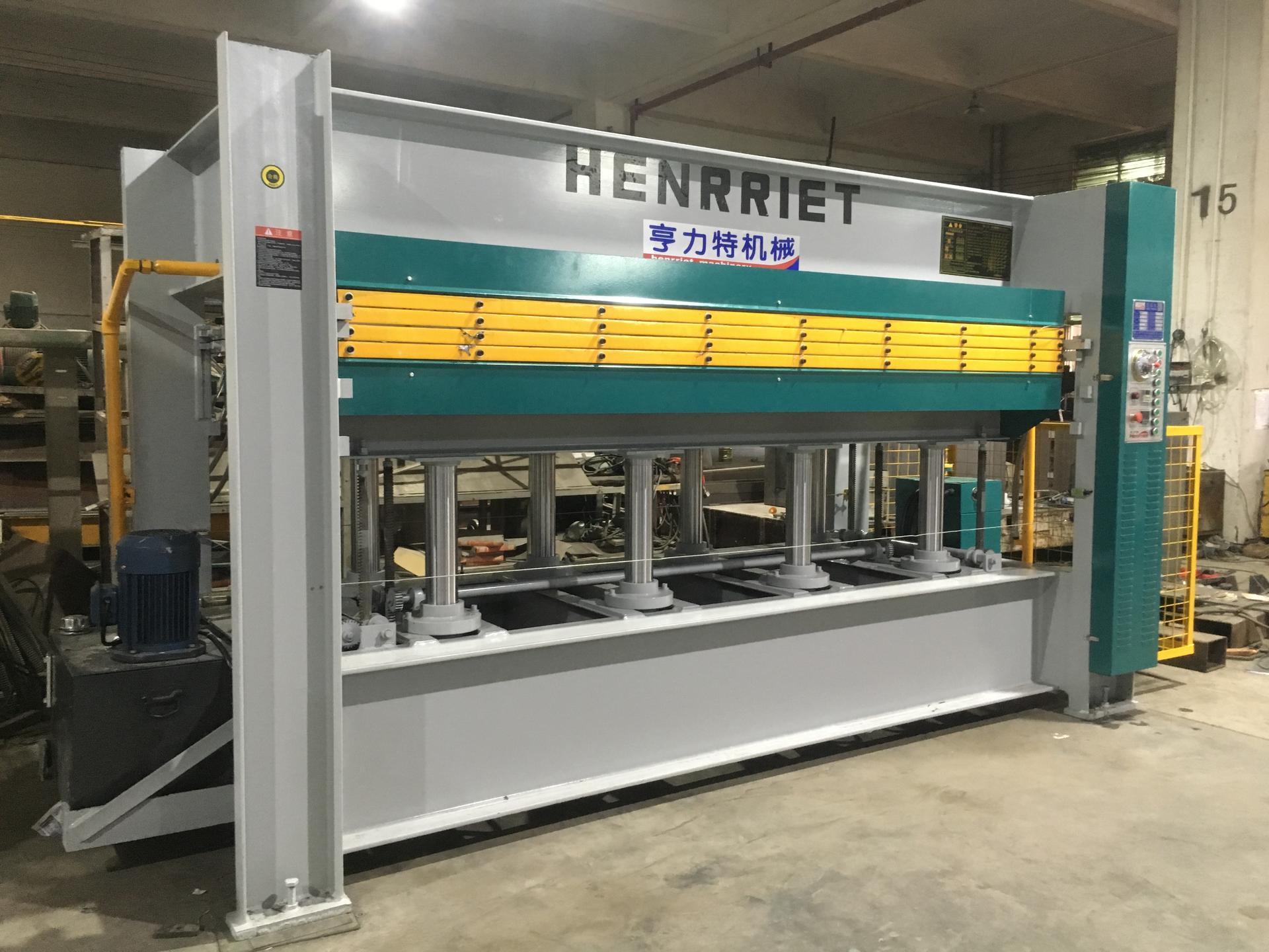 亨力特hlt3248-600t三聚氰氨貼面熱壓機,木工家具貼面熱壓機,生態板貼面熱壓機,尺寸非標可以定制示例圖24