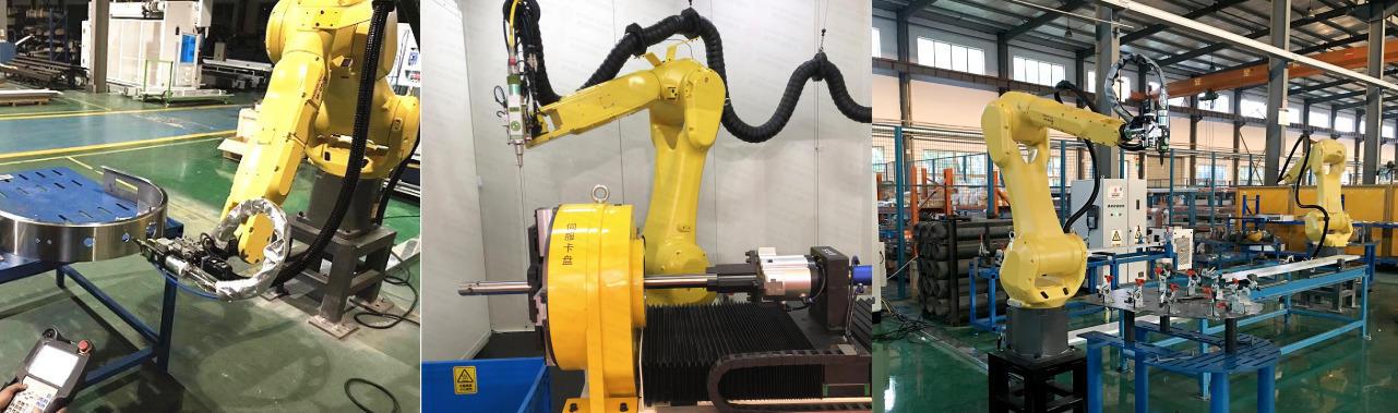 安徽斯塔克机器人三维光纤激光切割机示例图14