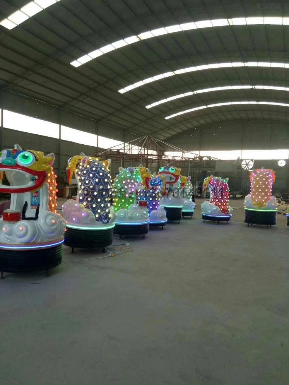 2020郑州大洋游乐设备8臂桑巴气球 儿童游乐厂家直销24座桑巴气球项目示例图42