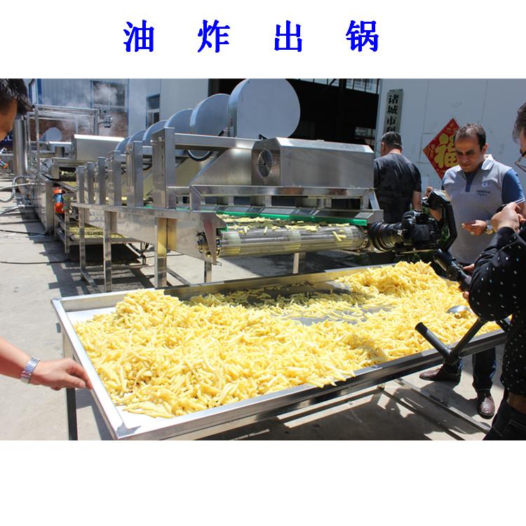 利杰LJ 速冻薯片油炸流水线  薯片油炸流水线 薯条机 薯片加工设备   薯片自动流水线 薯条流水线/油炸薯片流水线示例图12