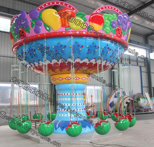 低价提供儿童游乐设备水果飞椅 厂家直销 郑州大洋火爆销售16座水果飞椅示例图5