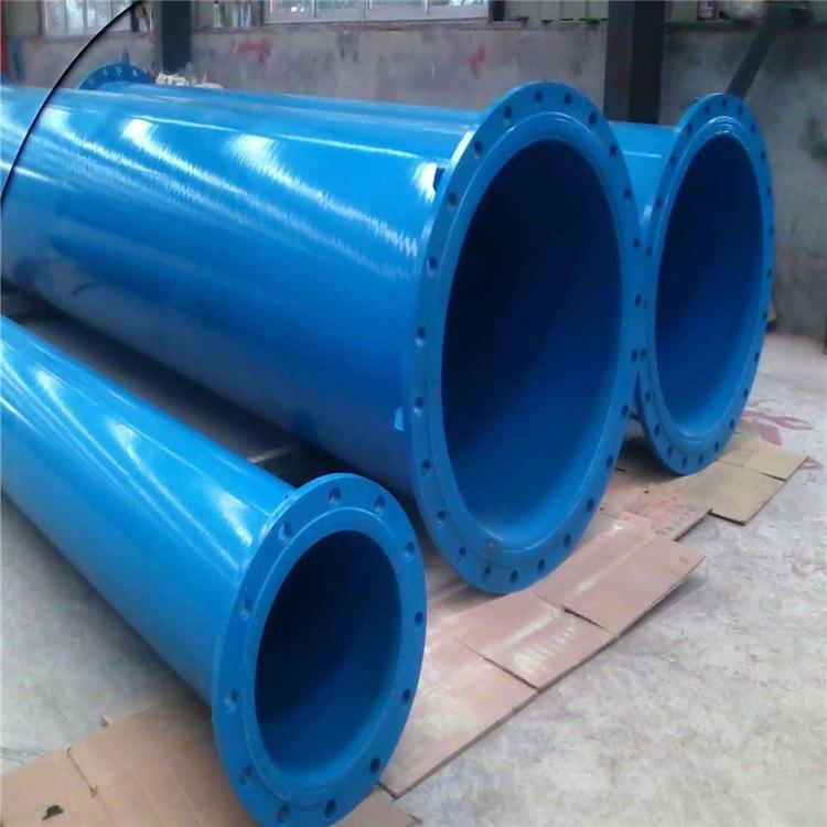 河北龙都内外涂塑钢管 PE涂塑管厂家 环氧树脂涂塑复合钢管示例图2