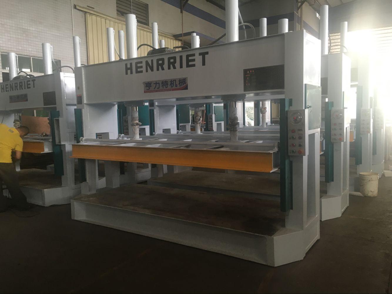 亨力特液壓冷壓機HLT3248-50t鋁蜂窩板冷壓機示例圖4