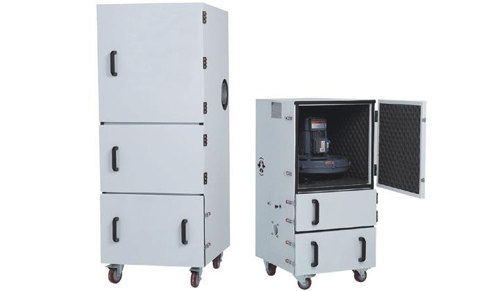 磨床粉尘吸尘器 车间机械设备工业集尘器 烟雾除尘器示例图10