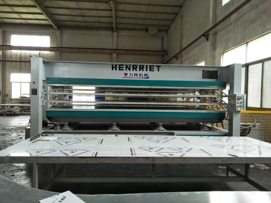 亨力特hlt3248-600t三聚氰氨貼面熱壓機,木工家具貼面熱壓機,生態板貼面熱壓機,尺寸非標可以定制示例圖33