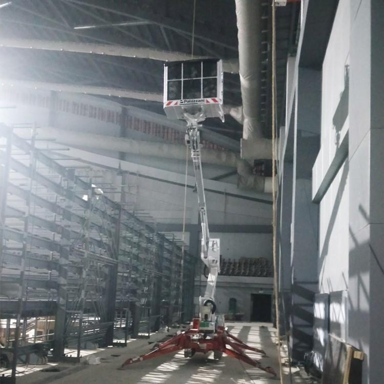 青岛标准型升降平台租赁 Palazzani帕拉沙尼TZX250蜘蛛式高空车 轻型升降机出租示例图5