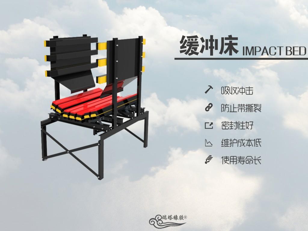 优质缓冲床厂家 HCC缓冲床 矿用缓冲床 皮带机缓冲床 缓冲滑槽示例图3