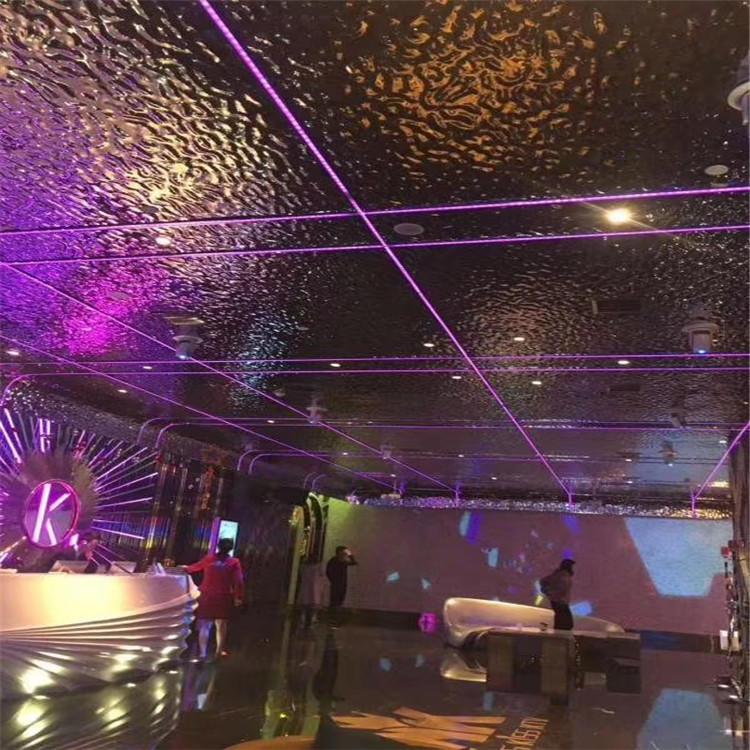 水波纹不锈钢板 3D立体蜂窝 镜面水波纹不锈钢板 天花装饰水波纹示例图3