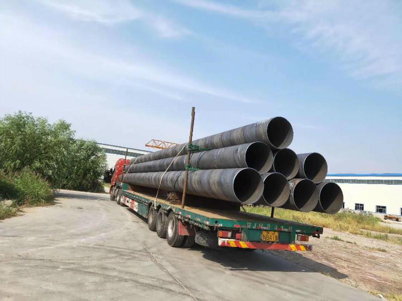 2005年工厂生产螺旋钢管 专做大口径螺旋钢管和厚壁螺旋钢管 国标品质 通过石油部标准示例图8