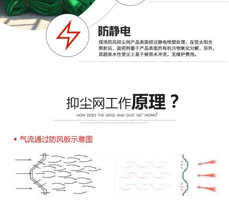 尼龍柔性防風網,防風屏障,煤場擋風墻,煤場防風防塵屏障示例圖4