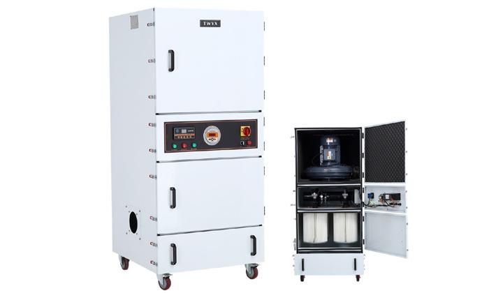 磨床粉尘吸尘器 车间机械设备工业集尘器 烟雾除尘器示例图12