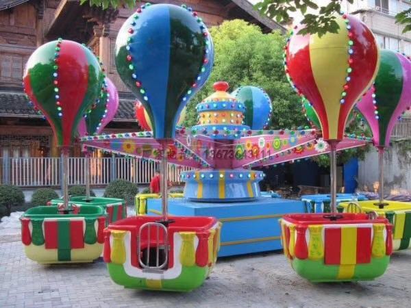 儿童游乐设备桑巴气球 厂家直销 郑州大洋8臂桑巴气球公园游乐示例图35