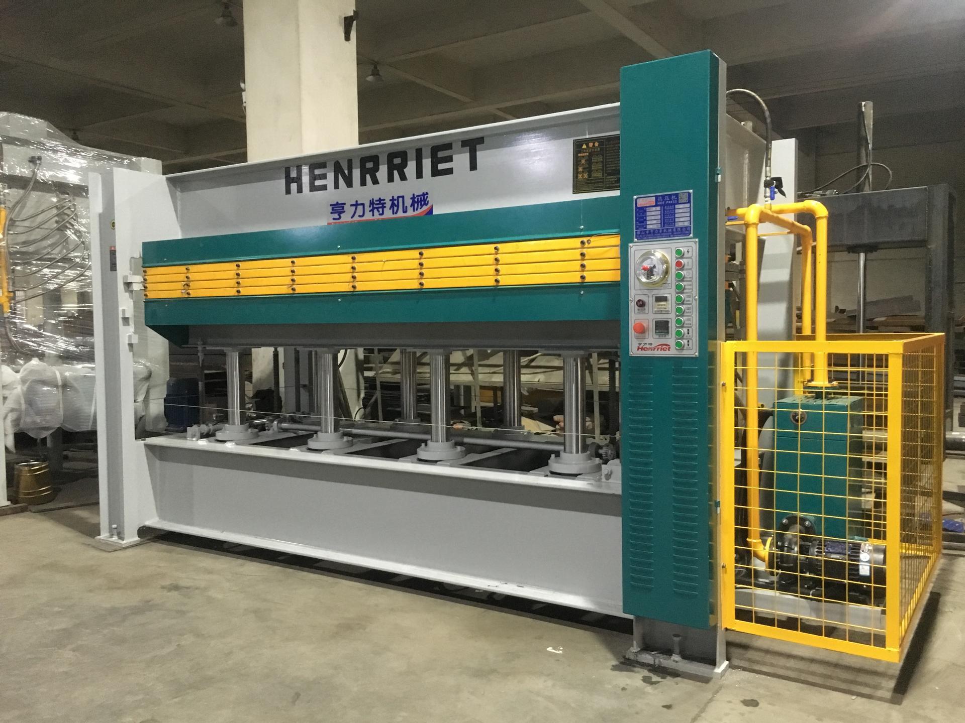 亨力特hlt3248-600t三聚氰氨貼面熱壓機,木工家具貼面熱壓機,生態板貼面熱壓機,尺寸非標可以定制示例圖25