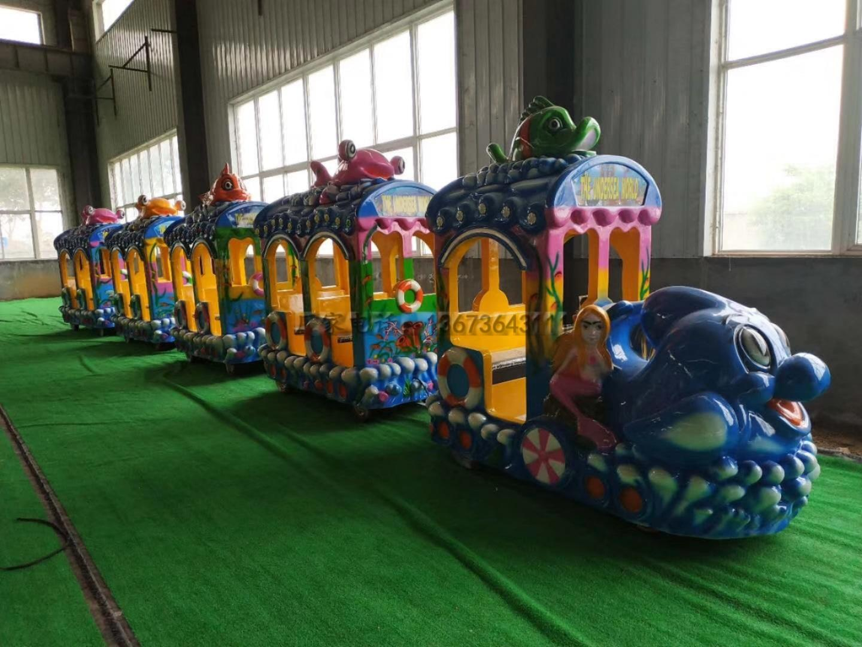儿童12座迷你飞椅游乐设备 旋转飞椅大洋游乐厂家专业定制生产示例图33