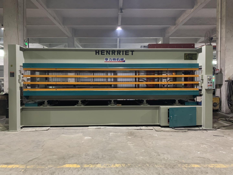 亨力特hlt3248-120t貼木皮熱壓機,木工家具貼面熱壓機尺寸,非標可以定制示例圖17