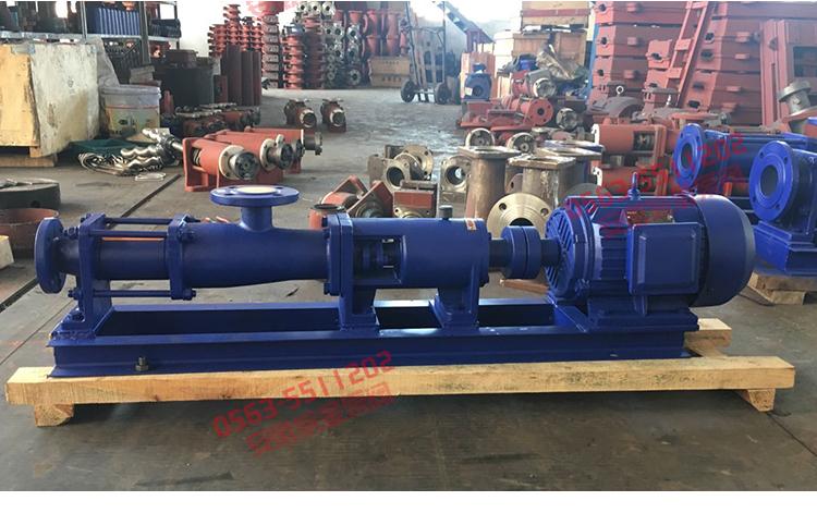 臥式螺桿泵規格,品牌高溫螺桿泵,G30型系列單螺桿污泥泵,單螺桿泵廠家示例圖18