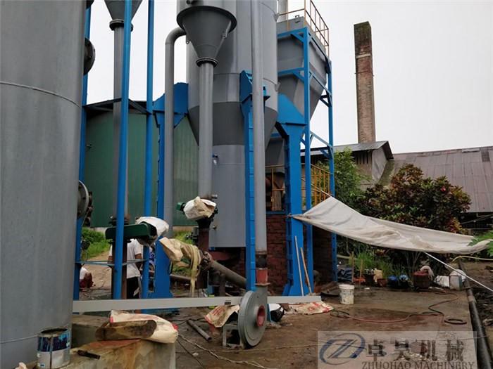 卓昊固定床生物質氣化爐直徑1.5-3米木塊氣化設備價格秸稈氣化爐價格示例圖14