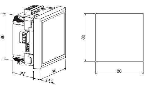安科瑞,AMC系列,多回路監控裝置示例圖9