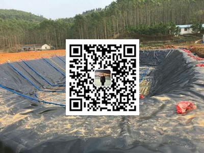 贺州市黑膜沼气池防渗膜厂家定做报价  黑膜沼气池施工公司示例图4