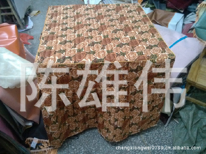 棉桌罩厂家大量供应加厚棉桌罩 防尘棉桌罩 欢迎订购示例图3