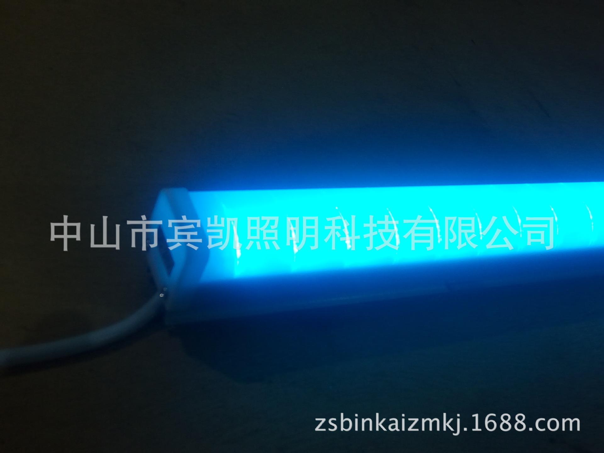 铝材LED护栏管 护栏管 led轮廓灯铝壳灌胶LED护栏管方型护栏管示例图12