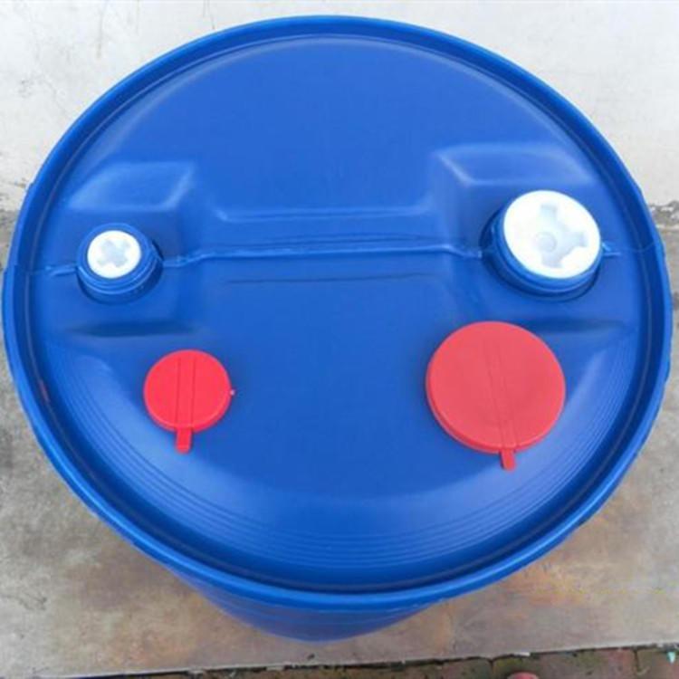 临沂塑料桶生产厂家 生产100升双环塑料桶 100L蓝色化工塑料桶