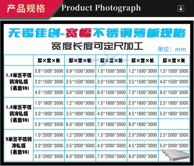 今日東特316L不銹鋼板價格漲200 無錫不銹鋼板316L價格表示例圖23
