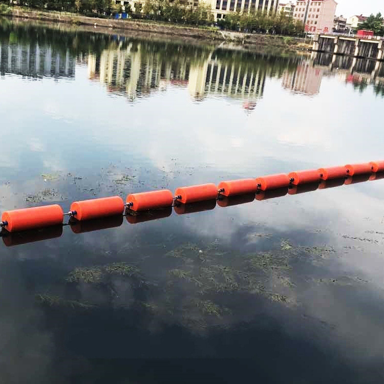 河道治理拦污浮筒 电站拦污浮筒 拦污浮筒厂家 环海塑料