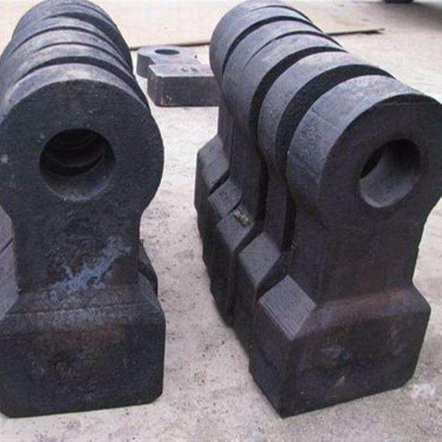 厂家直销 晓贺铸造 高铬齿环、锥形套、削泥刀