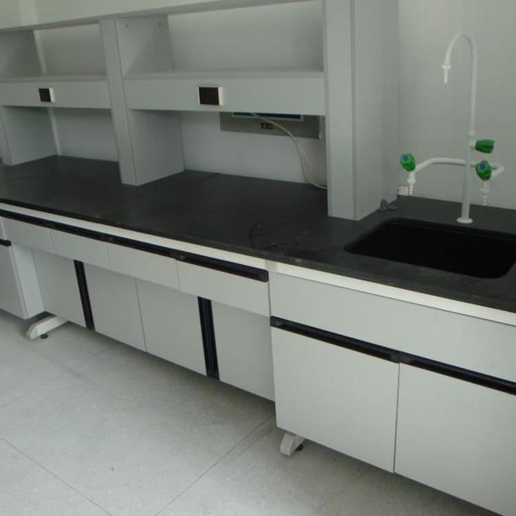 赛思斯 S-SG1达州市钢木实验台 化验室家具 理化板实验边台化工造纸厂沥青防水实验室