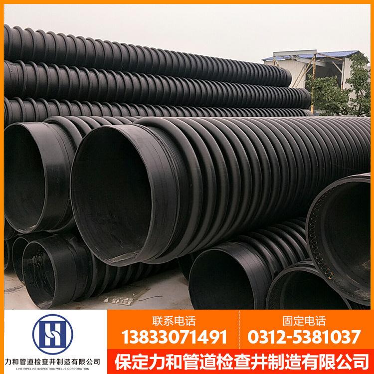 长期供应 克拉管 HDPE聚乙烯缠绕结构壁管 厂家直销示例图7