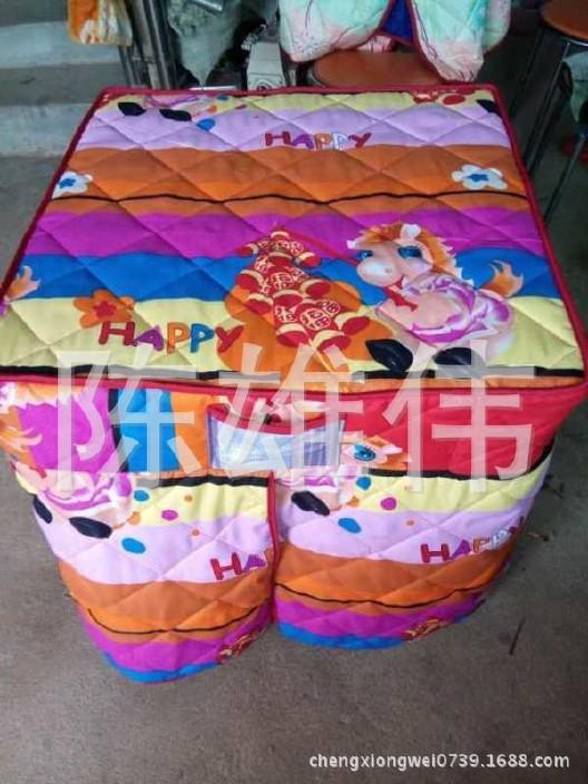 批发供应可折叠棉桌罩 加棉桌布 棉桌罩销售 欢迎订购示例图6