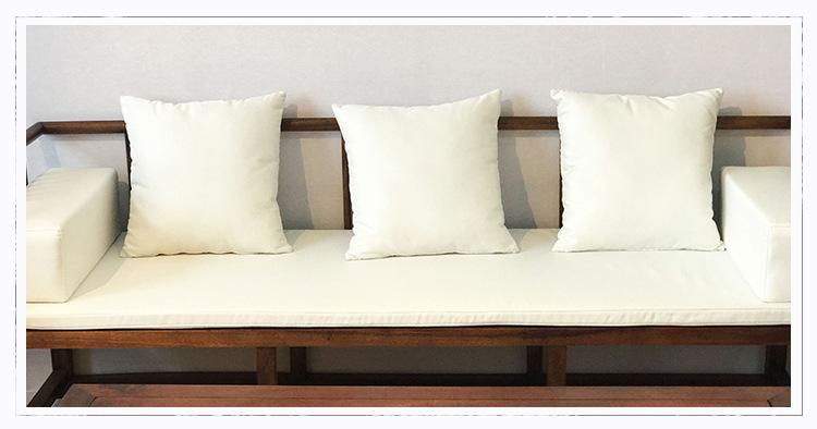 南美胡桃木沙发七件套客厅家具 新中式榫卯工艺实木沙发家具批发示例图17
