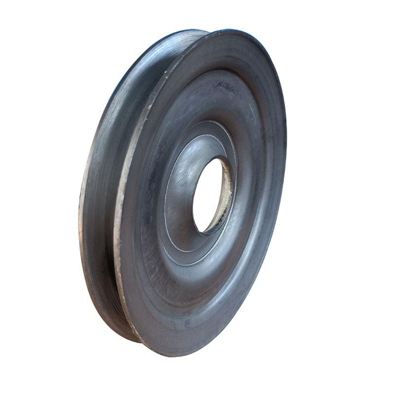 厂家直销熟铁轮单槽劈开式皮带轮尺寸精准外观精致质量保证示例图4