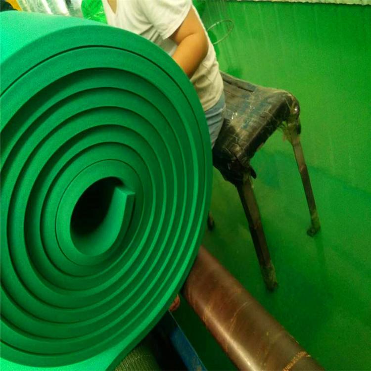 赢胜正品保证 方格铝橡塑板 彩色橡塑保温板 橡塑海绵板
