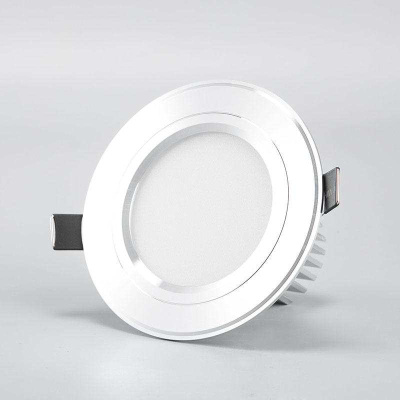 厂家直销 高档防眩光LED筒灯 环保优质筒灯 超亮led刀型天花筒灯