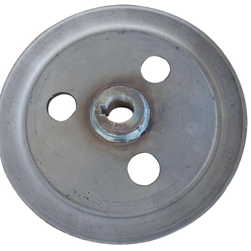 厂家直销优质单槽皮带轮 V型 劈开旋压皮带轮可加工定制示例图2