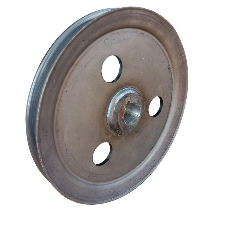 收割机配套专用单槽皮带轮 V型 劈开旋压皮带轮、可加工定制示例图1