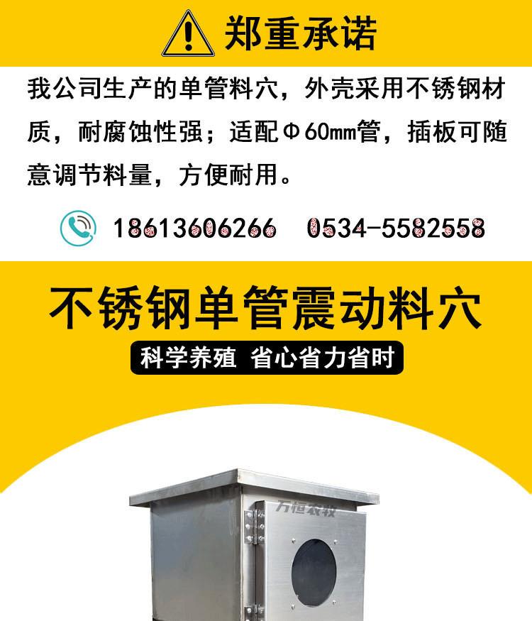 全自动喂料设备养殖场专用料穴养殖输送系统示例图1