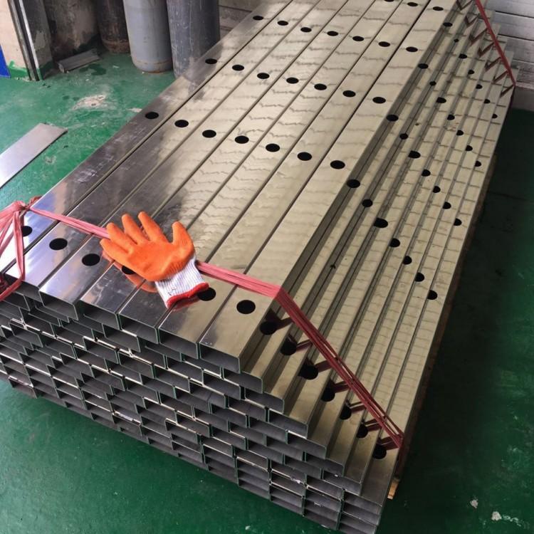 现货供应 不锈钢方管50*100*3.0拉丝方通 佛山厂家批发示例图4