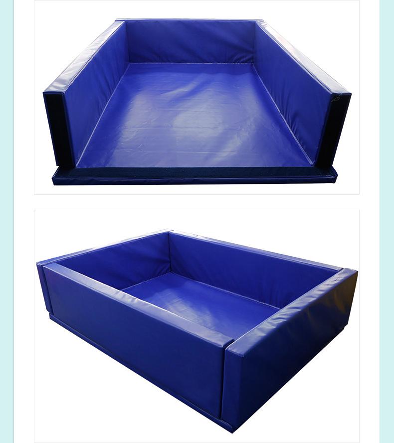 厂家批发儿童软体球池 加厚幼儿园室内围栏长方形组合软体球池示例图6