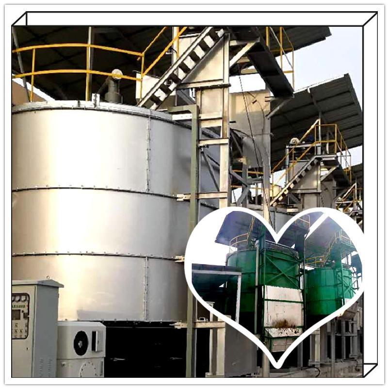 餐廚垃圾無害化處理設備 智能高溫好氧發酵罐 海能科技有機肥發酵機