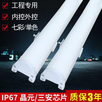 户外亮化工程专用LED线条灯条硬灯条线形铝 壳护栏管示例图22