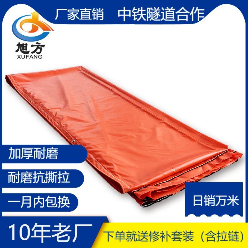 隧道風帶風筒  阻燃高強絲柔性工程風筒布 風機通風帶  拉鏈風筒