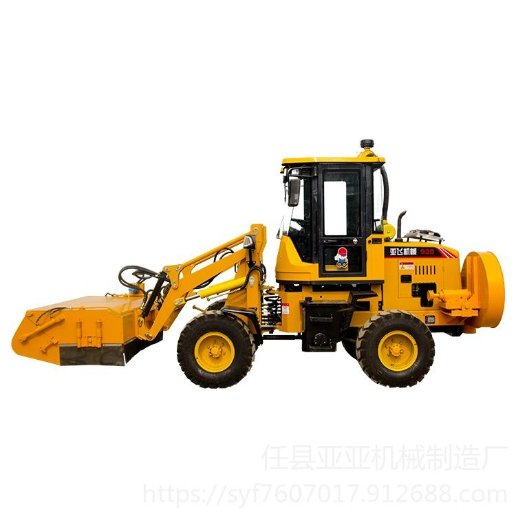 工程道路清掃車廠家銷售,水穩層清掃機,裝載機改裝掃地車歡迎詳詢