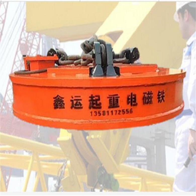 廠家直銷起重電磁吸盤 1.2米強磁起重電磁鐵吸盤鑫運起重電磁吸盤示例圖3